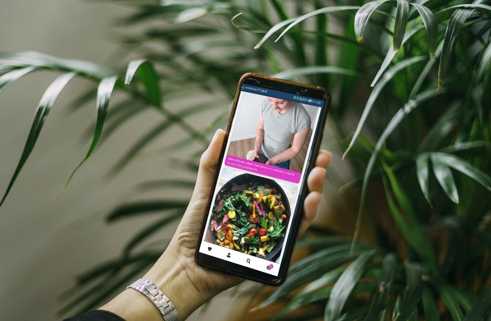 Responsive, Tauranga digital design agency. Client project  - Charlotte Milne Fitness, Website development, eCommerce, web hosting, Charlotte Mile Fitness products on mobile