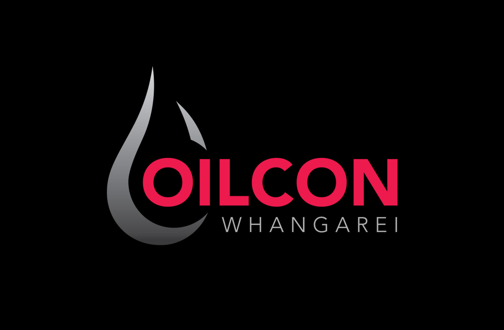 Responsive, Tauranga digital design agency. Client project  - Oilcon Ltd, Graphic design, Branding, logo on a dark background