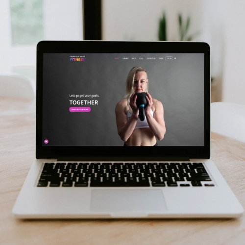 Responsive, Tauranga digital design agency. Client project  - Charlotte Milne Fitness, Website development, eCommerce, web hosting